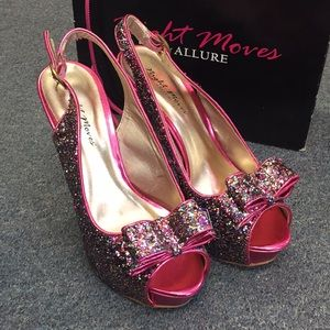 Allure Shoes - Night Moves by Allure Heels